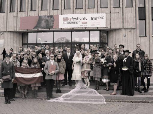 DA Daiļrades Atmodas kāzas. Laulību ceremonija 2013