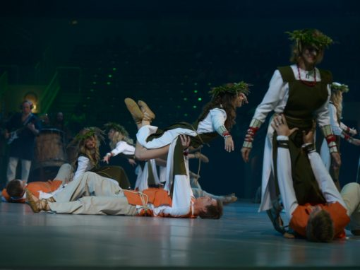 Pasaules koru olimpiādes atklāšana Rīgā