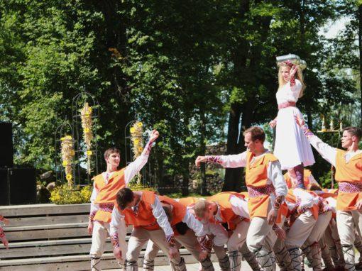 40. Latvijas puķu draugu saiets Raunā 2017